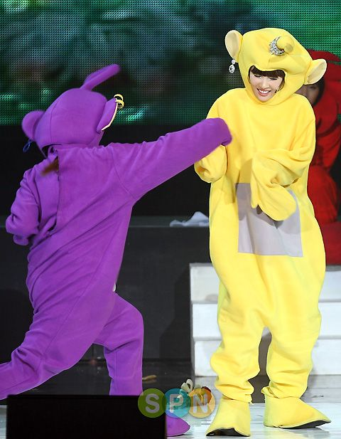 EunSun Moments during Teletubbies Skit at 2nd Fanmeeting « Wonder ...